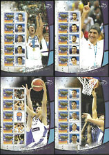 Greece 2005 Euro basket Champions Miniature Sheets MNH