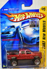 HOT WHEELS 2007 NEW MODELS DODGE RAM 1500 #05/36 RED FACTORY SEALED