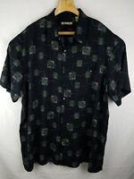 Batik Bay 3XL Hawaiian Shirt Black