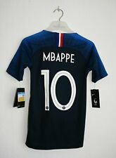 New Kids France Mbappe Jersey World Cup 2018 Nike Soccer 137-147cm Football