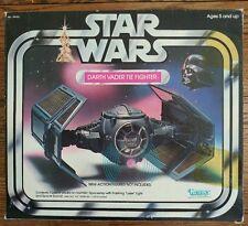 Star wars Darth Vader tie fighter vintage nib mib skywalker 1977 Sith force