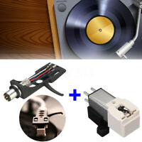 LP Turntable Nadel Stylus Tonarm Headshell Ersatz für Audio-Technica