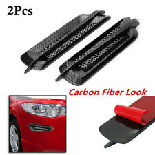 2PCS Auto Car Side Air Flow Vent Fender Cover Intake Grille Sticker Universal