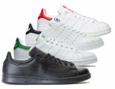 Adidas Uomo Stan Smith Classico Scarpe Retro Sneakers Bianco/Navy/ Verde/Nero