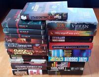 20x Romane Krimis Bücher Spannung gebunden John Grisham Michael Crichton Cook