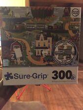 Sure Grip 300 Pc Puzzle City Slicker 100% Complete GUC
