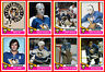 PITTSBURGH PENGUINS 1974-75 High Grade NHL Custom Made Hockey Cards U-Pick THICK
