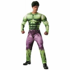 Avengers Incredible Hulk Deluxe Muscle Adult Costume Marvel  Rubie's 880747 NEW