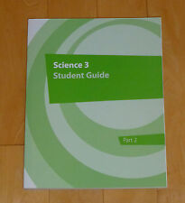 NEW K12 Science 3 Green Student Guide Part 2 for 3rd Grade