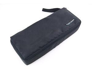 Vintage Case Logic Cassette Tape Carry Case - 15 Cassette Holder - Black