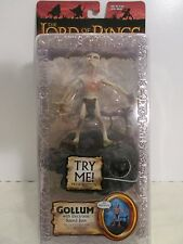 Lord of the Rings ~ The Two Towers ~ Gollum w/ Electronic sound base ~ MOC