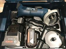 Bosch GWS 18 V-LI Angle Grinder inc 1x 3.0Ah Batt in L-Boxx +Extra