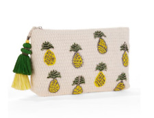 Twig & Arrow Beaded Pineapple Clutch
