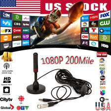 1080P 4K HD Digital Indoor Amplified TV Antenna With Amplifier 200 Miles Range