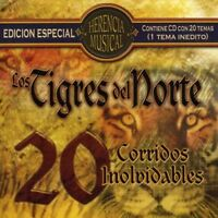 Los Tigres del Norte - Herencia Musical: 20 Corridos [New CD]