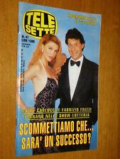 TELESETTE 1995/41=MILLY CARLUCCI=SAILOR MOON=TERESA DE SIO=MASSIMO GILETTI=ECT