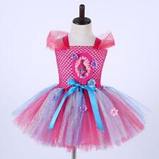 Children Fancy Tutu Dress Princess Party Cosplay Kids Girl Costume Birthday Gift