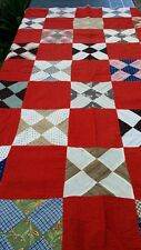100% Cotton Hand Pierced Quilt Top