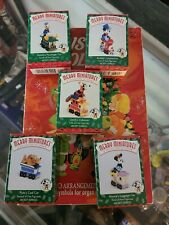 Hallmark Disney Merry Miniatures Christmas Ornaments Mickey Express Set Of 5 New
