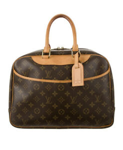 Authentic LOUIS VUITTON Monogram Deauville Bag $1,650.