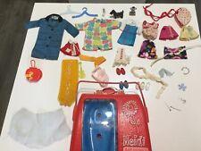 Vintage Remco '60'S Heidi & Jan Pocketbook Doll Accessories Lots