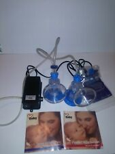 Nurture Iii Breast Pump Double Electric Pump used missing bottle caps works