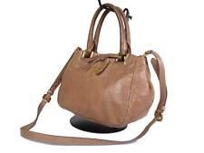 PRADA Leather Brown Shoulder Bag PS15606L