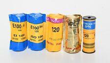 Kodak Portra Ektachrome Vericolor 120mm Negative & Reversal  Expired