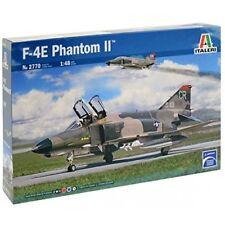 F-4E Phantom II Fighter Plastic Kit 1:48 Model 2770 ITALERI
