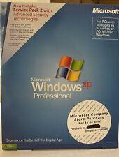 Microsoft Windows XP Professional SKU E85-01011. Sealed Retail Box