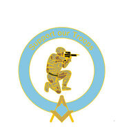New Stunning Masonic Badges Support Our Troops Badge Gift, Charity,