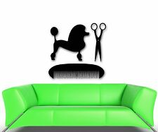 Wall Stickers Vinyl Decal Beauty Salon Animal Hairdresser Dog (ig1734)