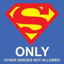"Superman Logo 8"" x  8"""