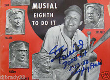 "Baseball Digest June 1958 Autograph ""Stan Musial 3000 Hit 5-13-58 Wrigley Field"""