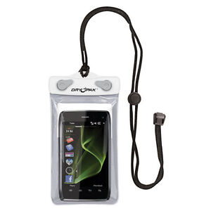 KWIK TEK DRY PAK CELL PHONE, GPS, MP3 CASE 4x6 WHITE/GRAY DP-46W NEW