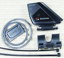 SIGMA ROX STS TRITTFREQUENZ SENSOR BIKE 1 + BIKE 2 DIGITAL + GUMMI + KABELBINDER