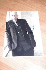 """Marc foster signed autógrafo en 20x30 cm foto """"james bond 007"""" inperson Look"""