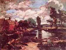 John Constable Flatford Mill From The Lock A3 Box Canvas