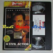film VHS A CIVIL ACTION J. Travolta R. Duvall  CARTONATA PANORAMA (FP1* ) no dvd
