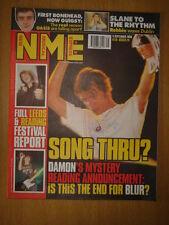 NME 1999 SEP 4 BLUR OASIS ROBBIE WILLIAMS CHARLATANS