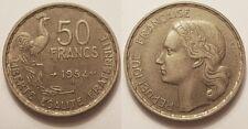 50 Francs Guiraud 1954 B, TTB et rare !!
