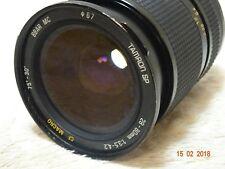 TAMRON SP 28-80 mm 3.5-4.2 Adaptall puede adaptar Digital Sony Canon Pentax Nikon