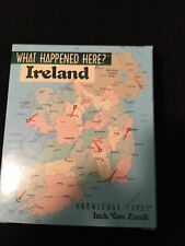 New What Happened Here-Ireland- Knowledge Cards By Jack Van Zandt