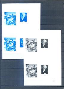 RWANDA 1976 ALBERT SCHWEITZER   PROOF   MNH