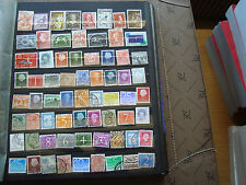 PAYS-BAS - 67 timbres obliteres (tout etat) stamp netherlands