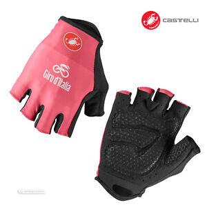 NEW Castelli 2021 #GIRO104 Giro d'Italia Summer Cycling Gloves : ROSA PINK