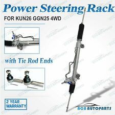 Power Steering Rack Pinion & Tie Rod Ends for Toyota Hilux KUN25 KUN26 GGN25 4WD