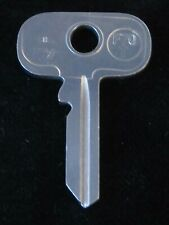 "B62DR *Wide Head* KEY BLANK ""FS"" 1958-1969 British JAGUAR Rootes Group MORRIS MG"