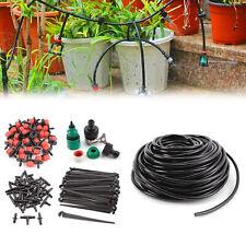 25M DIY Micro Drip Irrigation System Plant Self Watering Garden Hose Kit