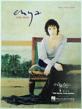 "2001 Enya ""Only Time"" Sheet Music - Rock Song"